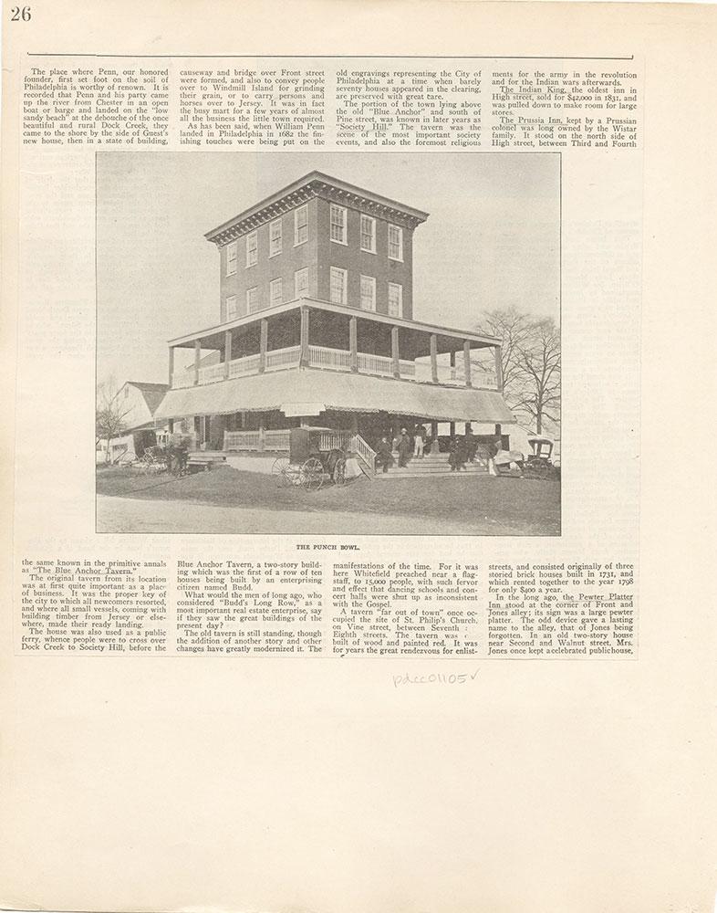 Castner Scrapbook v. 11, Hotels, Inns, page 26