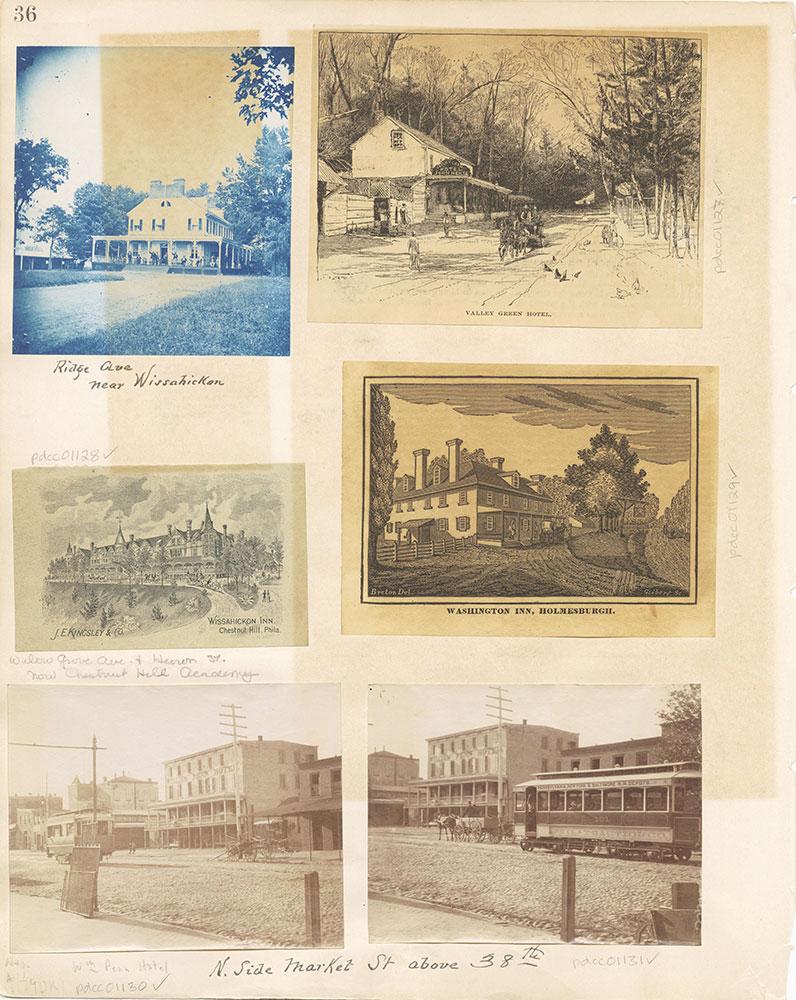 Castner Scrapbook v. 11, Hotels, Inns, page 36
