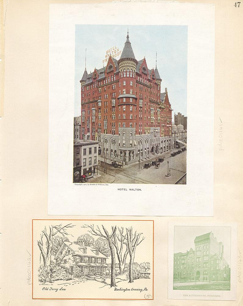 Castner Scrapbook v. 11, Hotels, Inns, page 47