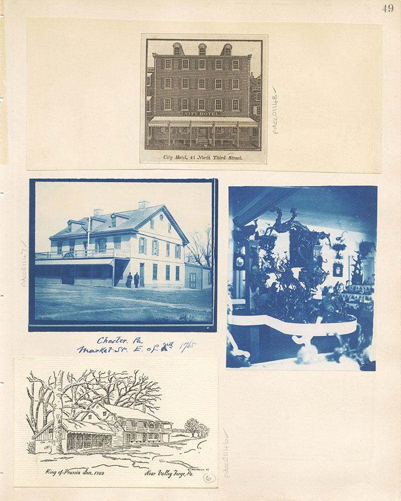 Castner Scrapbook v. 11, Hotels, Inns, page 49