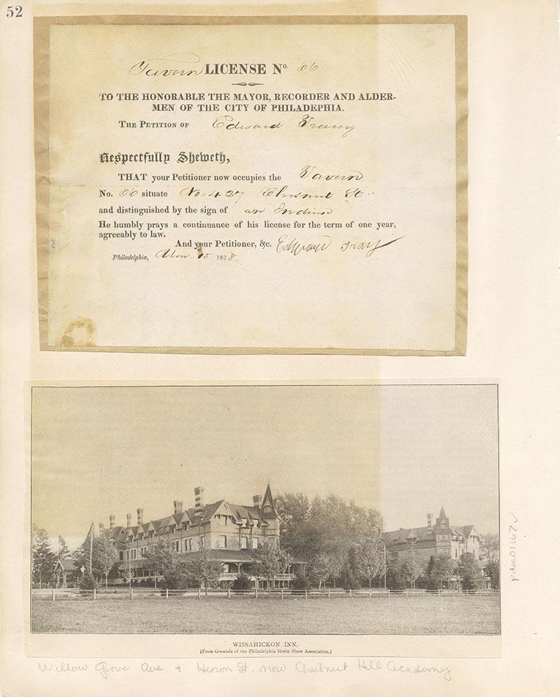 Castner Scrapbook v. 11, Hotels, Inns, page 52