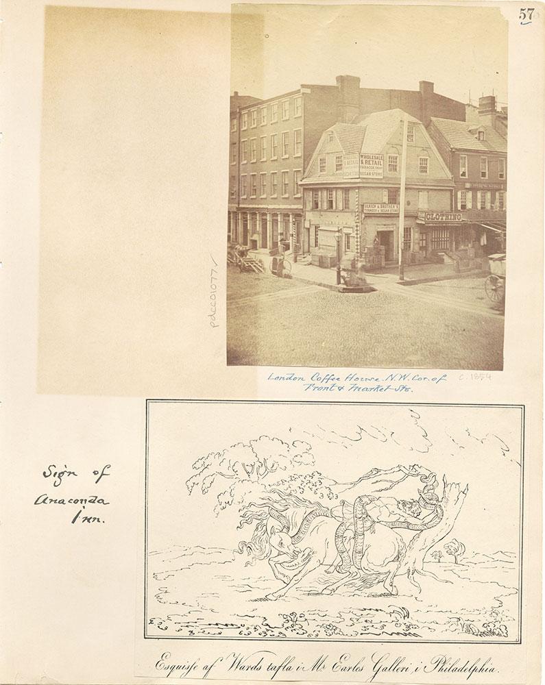 Castner Scrapbook v. 11, Hotels, Inns, page 57