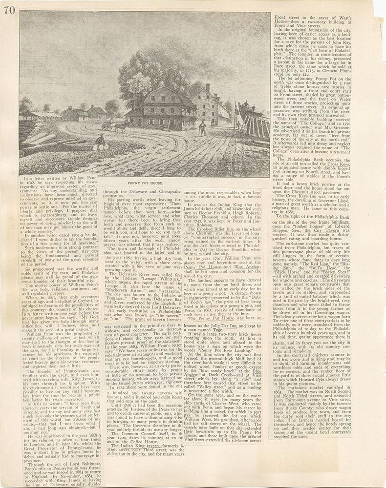 Castner Scrapbook v. 11, Hotels, Inns, page 70