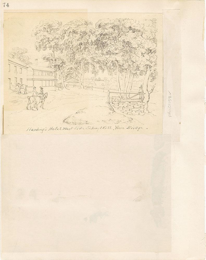 Castner Scrapbook v. 11, Hotels, Inns, page 74