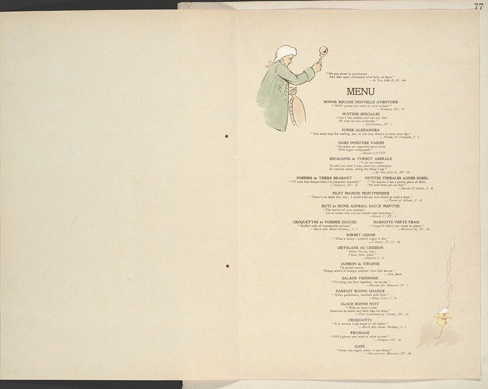 Castner Scrapbook v.11, Hotels, Inns, page 77