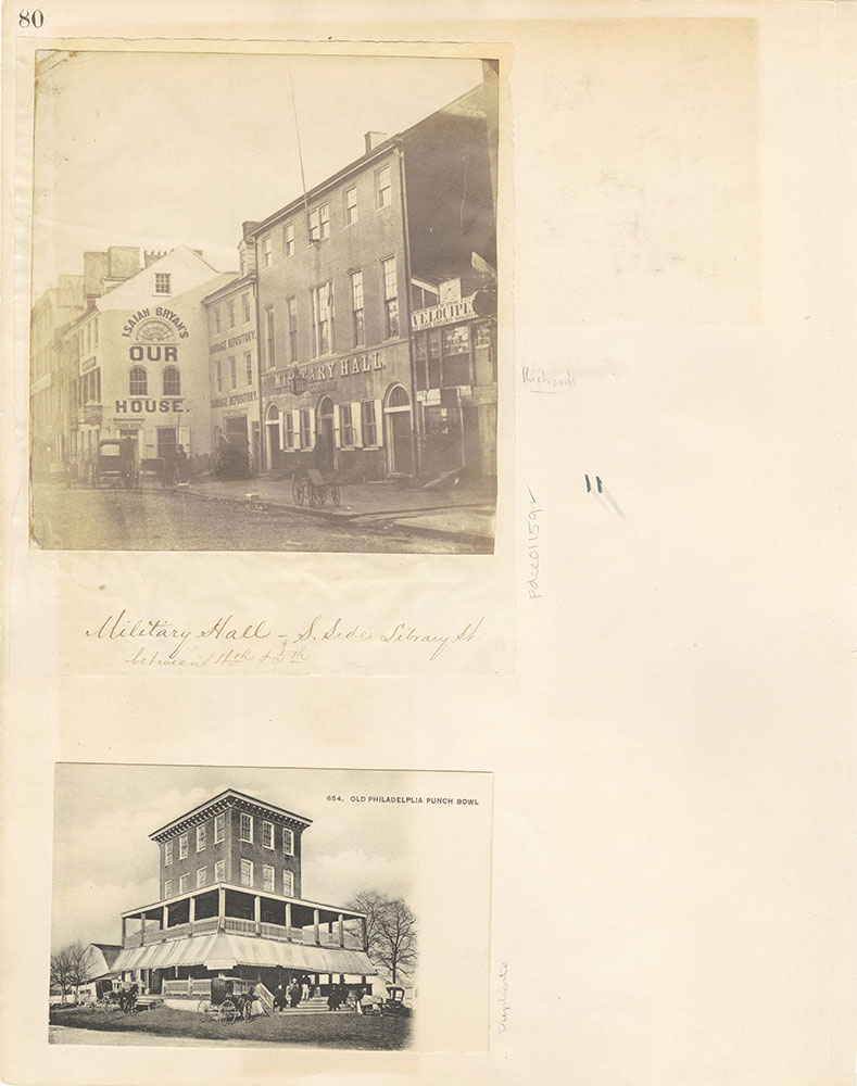 Castner Scrapbook v. 11, Hotels, Inns, page 80