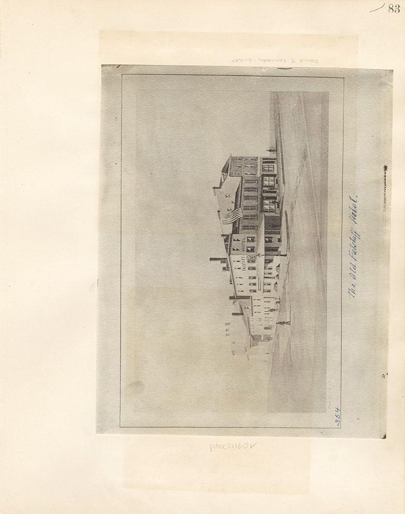 Castner Scrapbook v. 11, Hotels, Inns, page 83