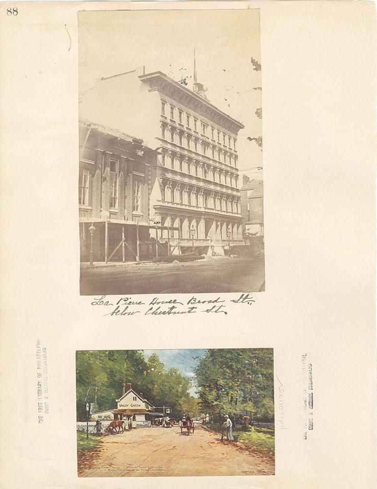 Castner Scrapbook v. 11, Hotels, Inns, page 88