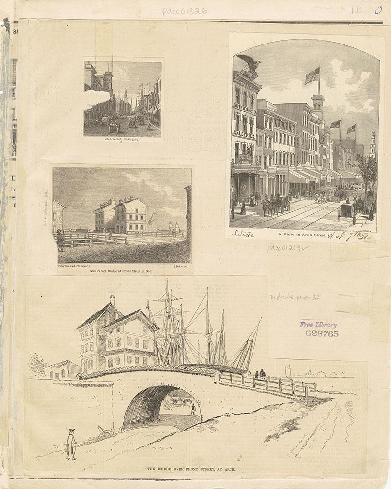 Castner Scrapbook v.12, Streets 1, page 1B