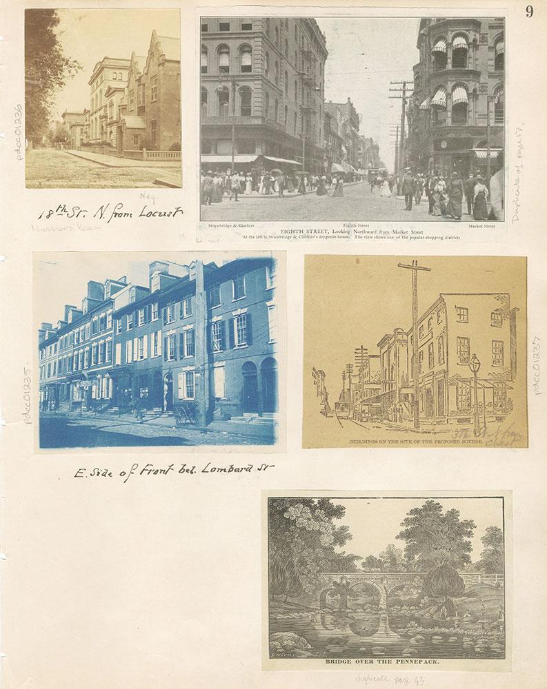 Castner Scrapbook v.12, Streets 1, page 9