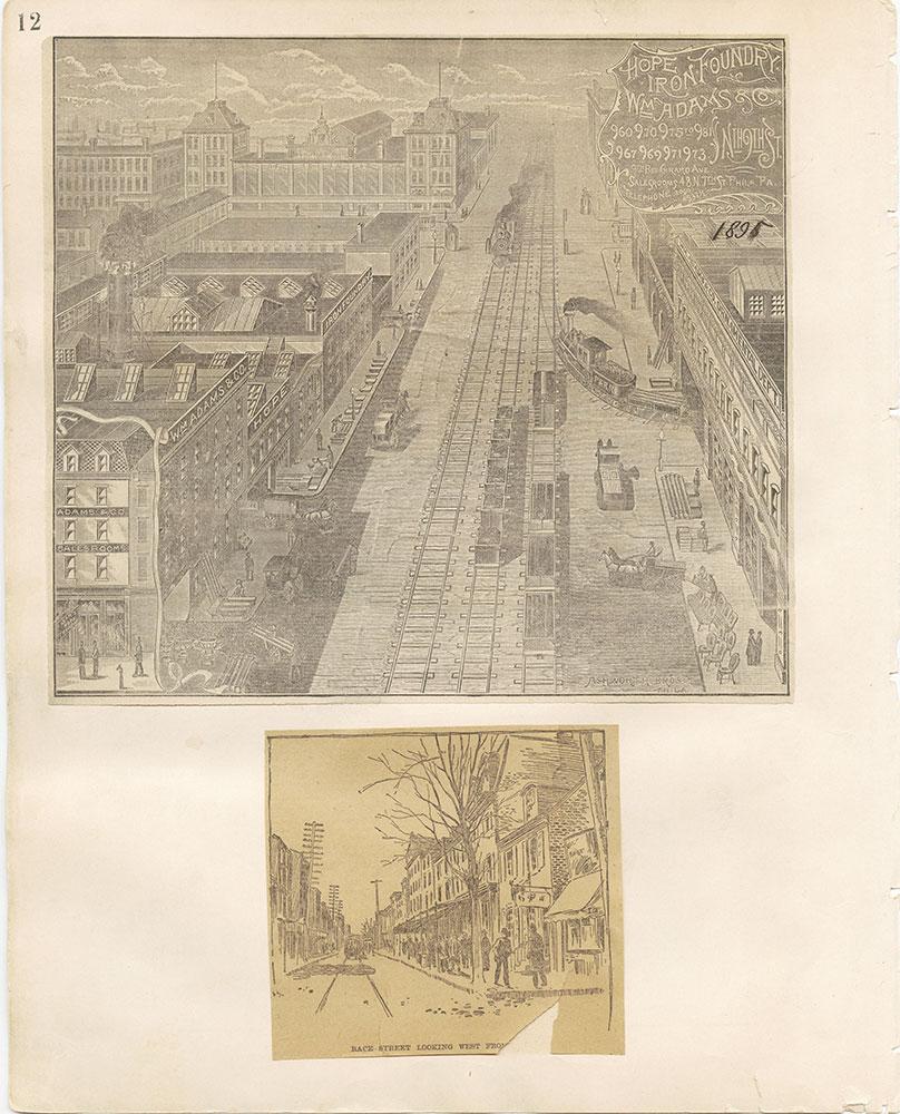 Castner Scrapbook v.12, Streets 1, page 12