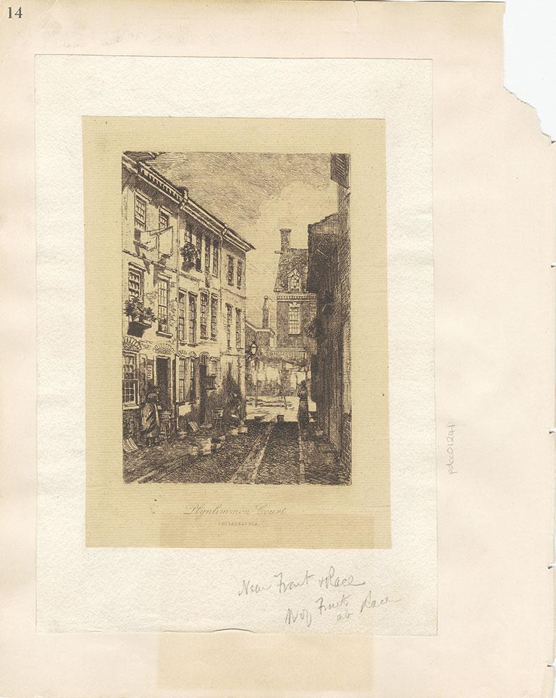 Castner Scrapbook v.12, Streets 1, page 14