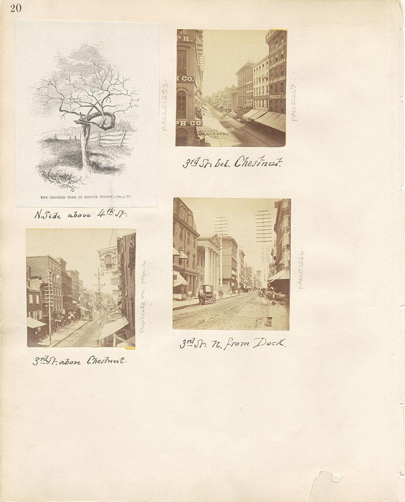 Castner Scrapbook v.12, Streets 1, page 20