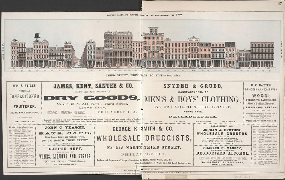 Castner Scrapbook v.12, Streets 1, page 27