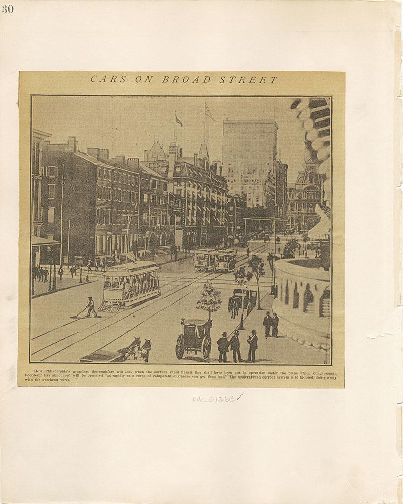 Castner Scrapbook v.12, Streets 1, page 30