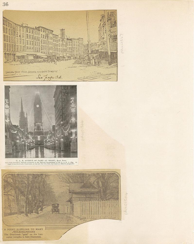 Castner Scrapbook v.12, Streets 1, page 36