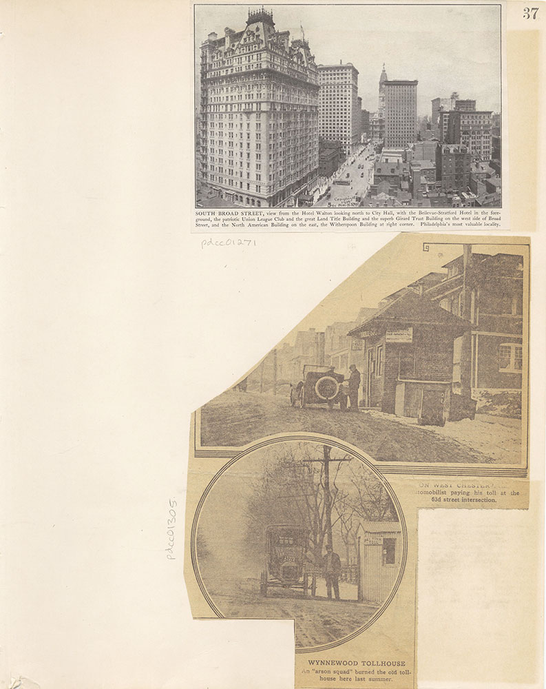 Castner Scrapbook v.12, Streets 1, page 37