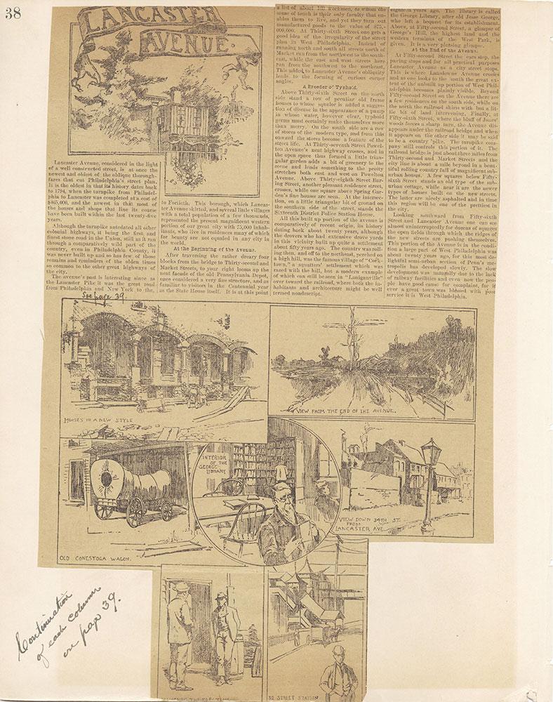 Castner Scrapbook v.12, Streets 1, page 38
