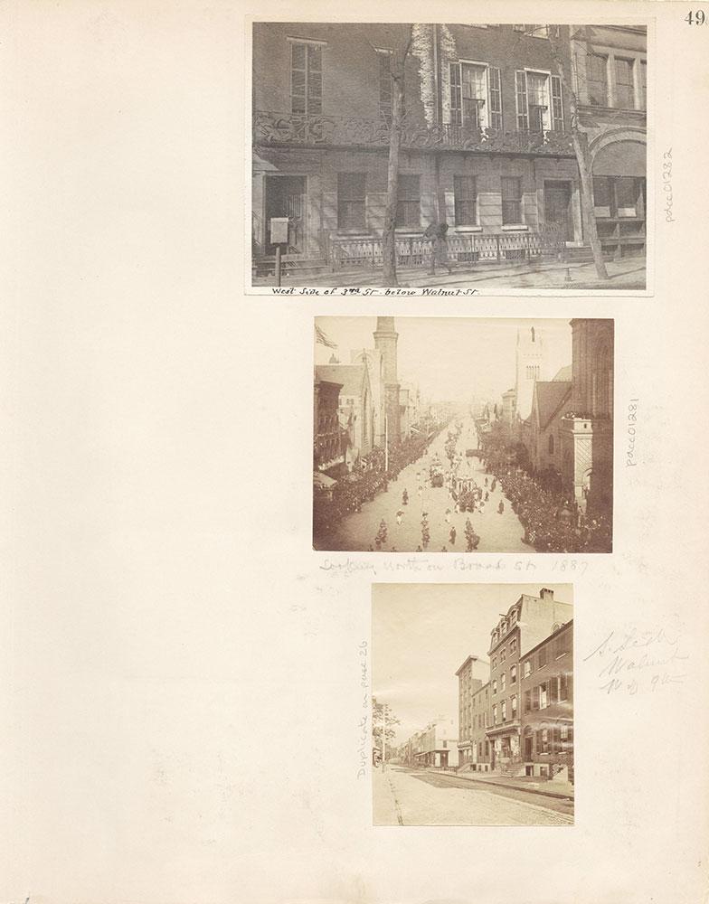 Castner Scrapbook v.12, Streets 1, page 49
