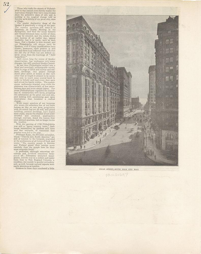 Castner Scrapbook v.12, Streets 1, page 52