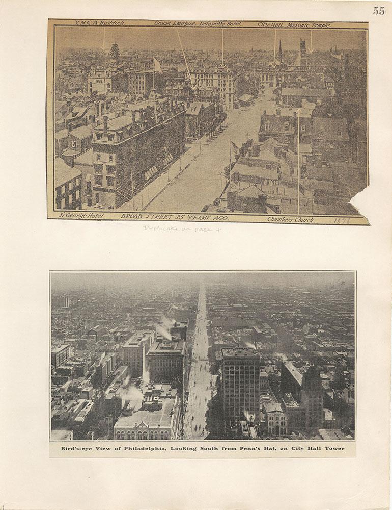 Castner Scrapbook v.12, Streets 1, page 55