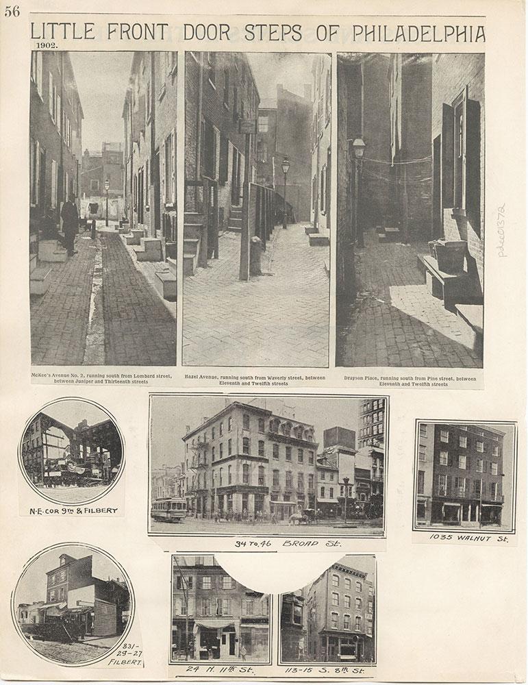 Castner Scrapbook v.12, Streets 1, page 56
