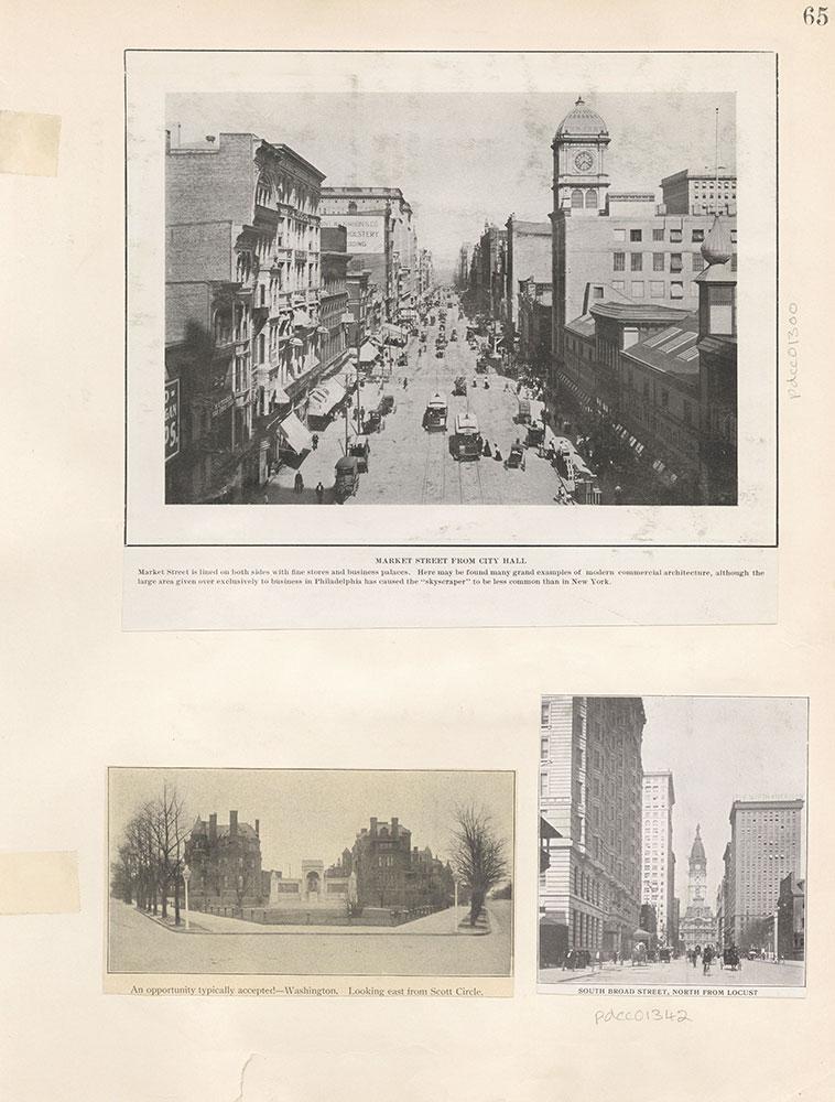 Castner Scrapbook v.12, Streets 1, page 65