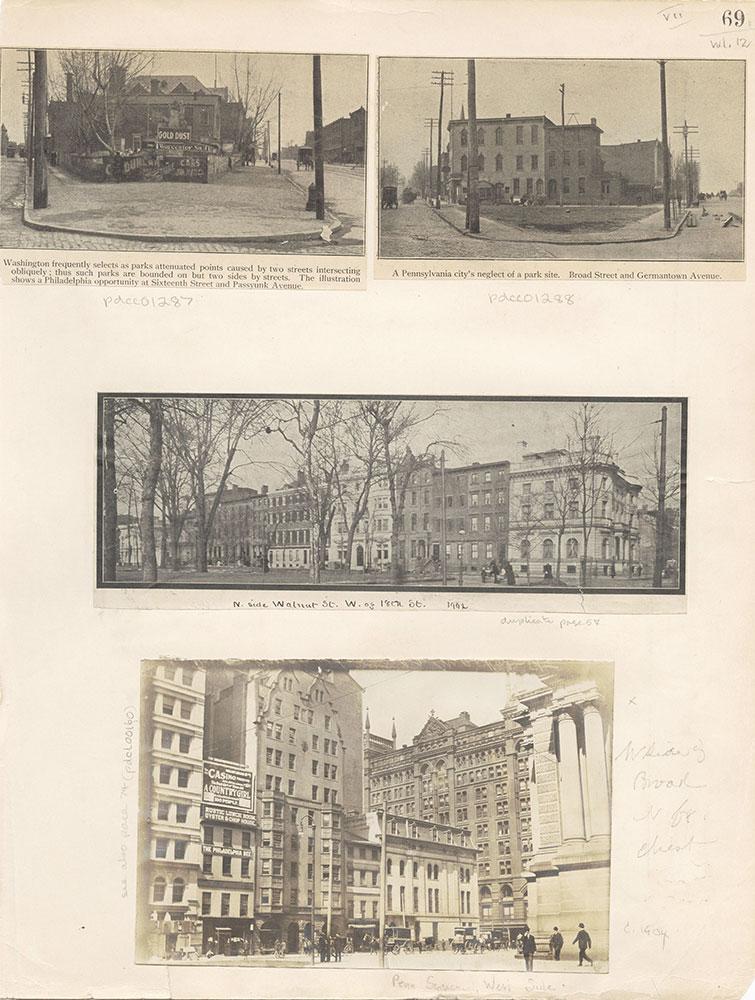 Castner Scrapbook v.12, Streets 1, page 69