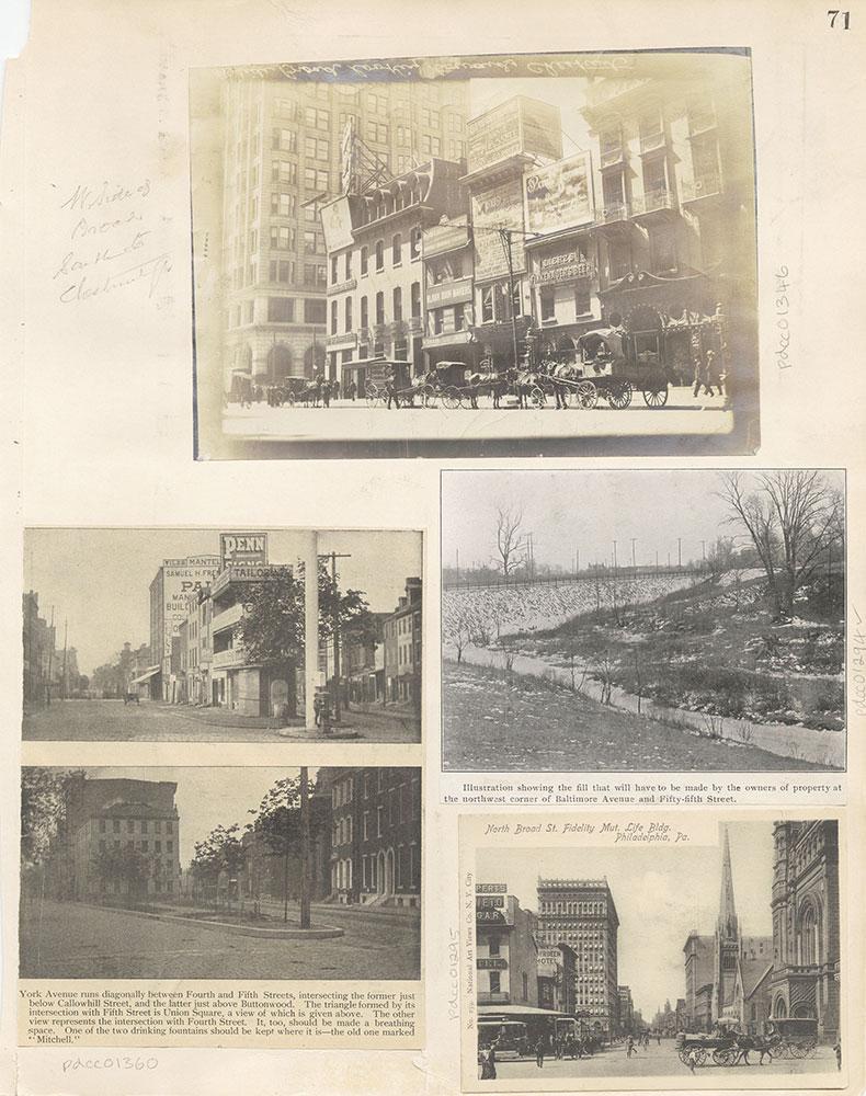 Castner Scrapbook v.12, Streets 1, page 71