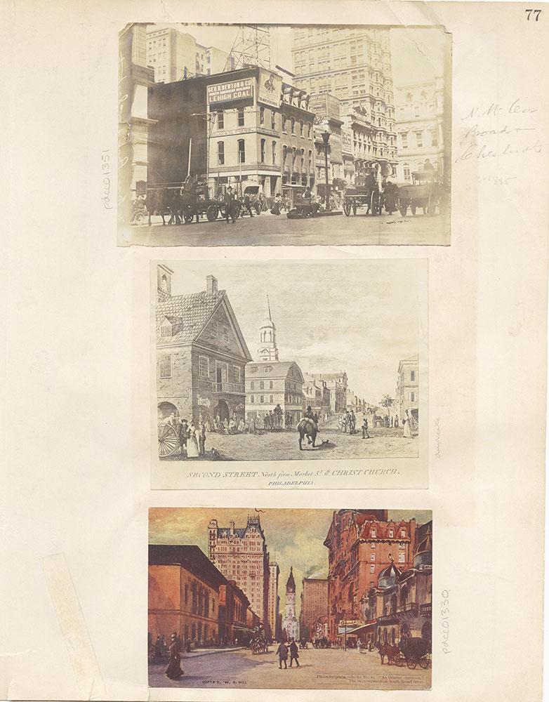Castner Scrapbook v.12, Streets 1, page 77