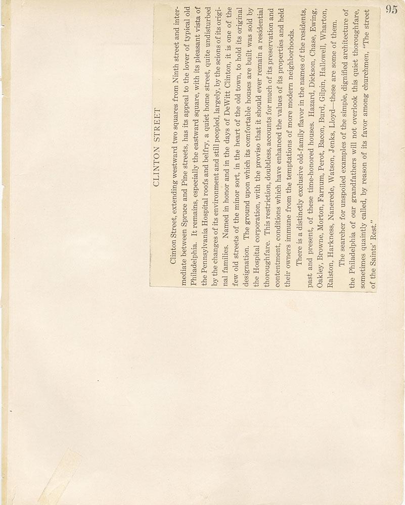 Castner Scrapbook v.12, Streets 1, page 95