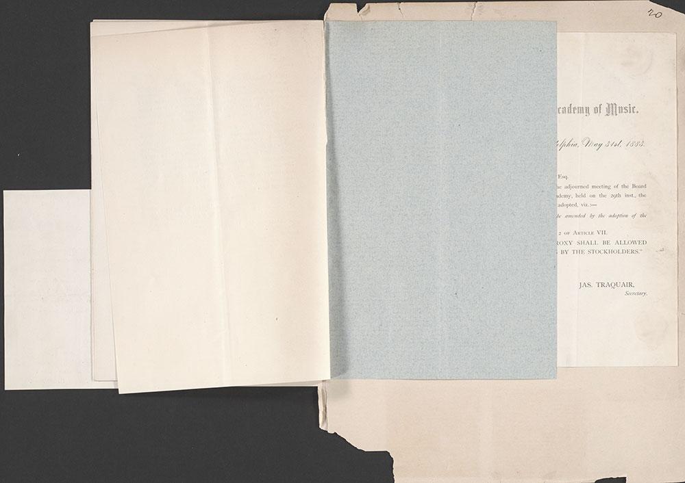 Castner Scrapbook v.1, Events 1, page 20