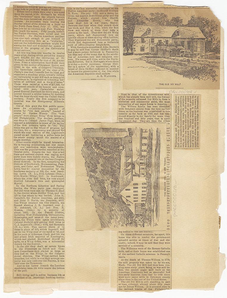 Castner Scrapbook v.1, Events 1, page 40