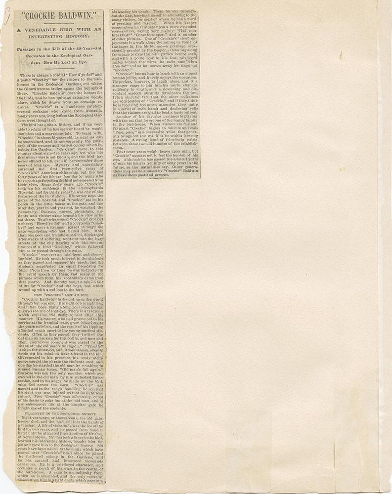 Castner Scrapbook v.1, Events 1, page 51