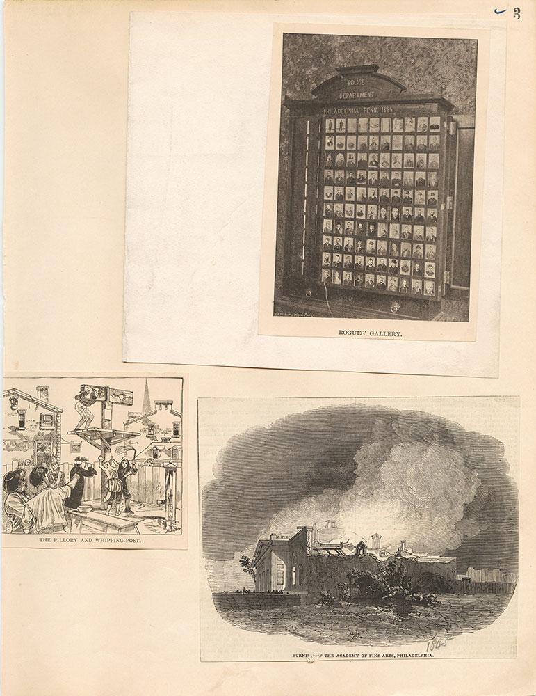 Castner Scrapbook v.19, Disasters, Criminal Prisons 1, page 3