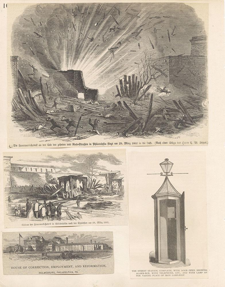 Castner Scrapbook v.19, Disasters, Criminal Prisons 1, page 10