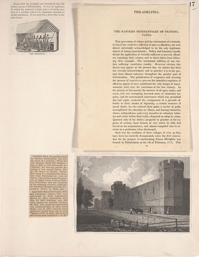 Castner Scrapbook v.19, Disasters, Criminal Prisons 1, page 17