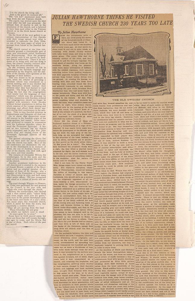 Castner Scrapbook v.22, Churches 1, page 1c