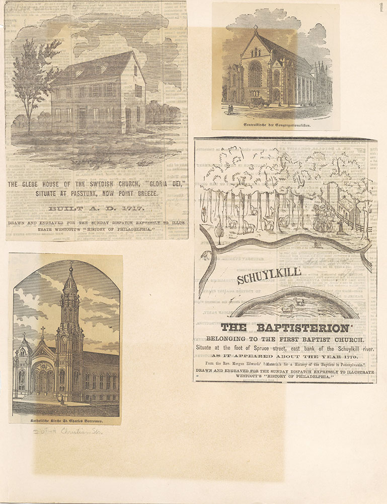 Castner Scrapbook v.22, Churches 1, page 1