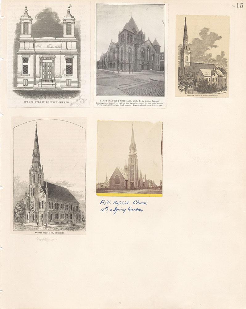 Castner Scrapbook v.22, Churches 1, page 15