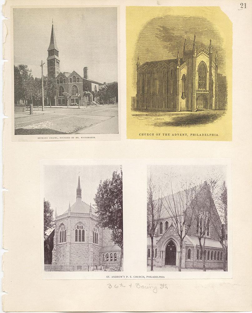 Castner Scrapbook v.22, Churches 1, page 21