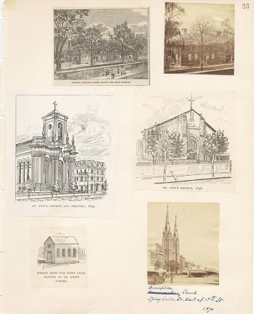 Castner Scrapbook v.22, Churches 1, page 23