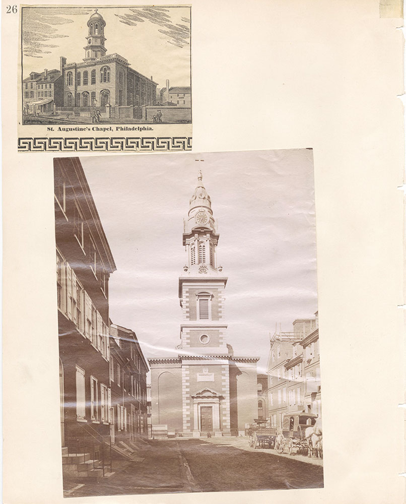 Castner Scrapbook v.22, Churches 1, page 26