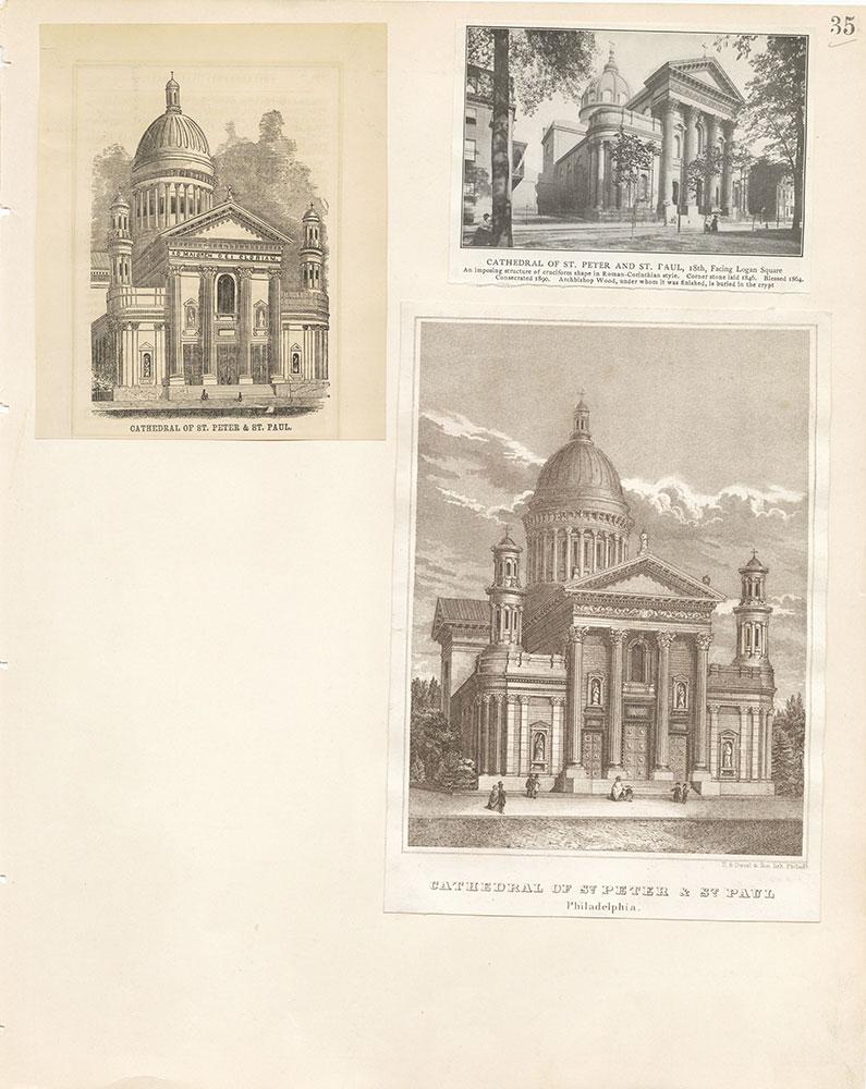 Castner Scrapbook v.22, Churches 1, page 35