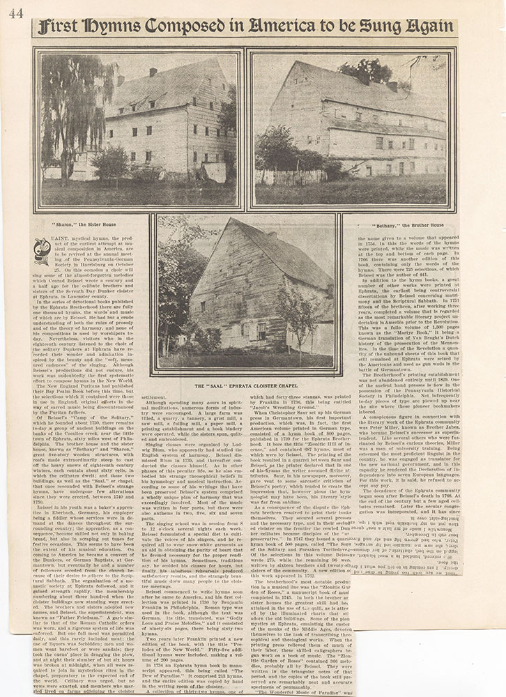 Castner Scrapbook v.22, Churches 1, page 44