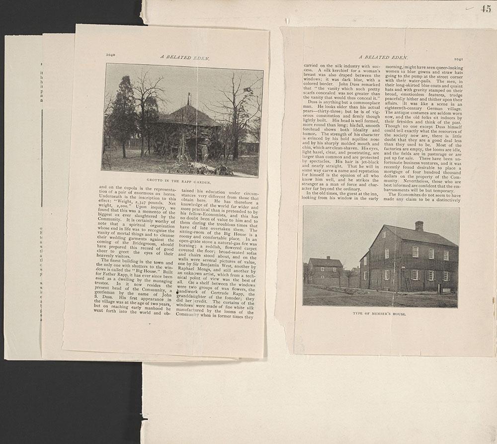 Castner Scrapbook v.22, Churches 1, page 45