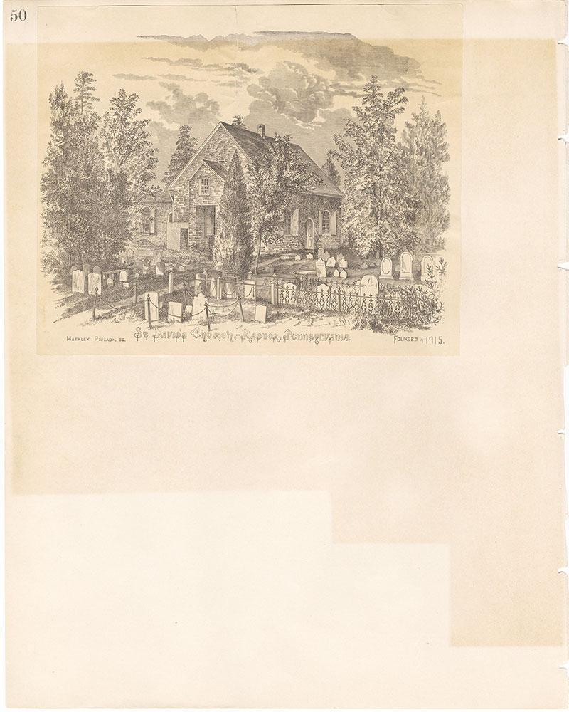 Castner Scrapbook v.22, Churches 1, page 50