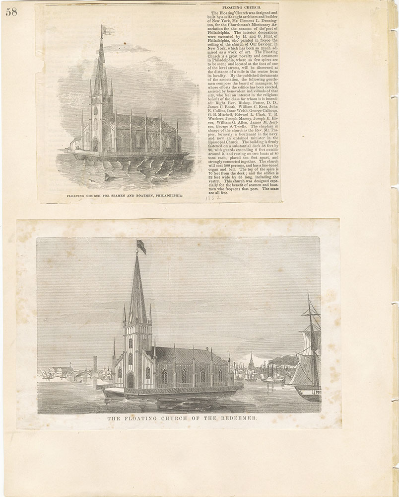 Castner Scrapbook v.22, Churches 1, page 58