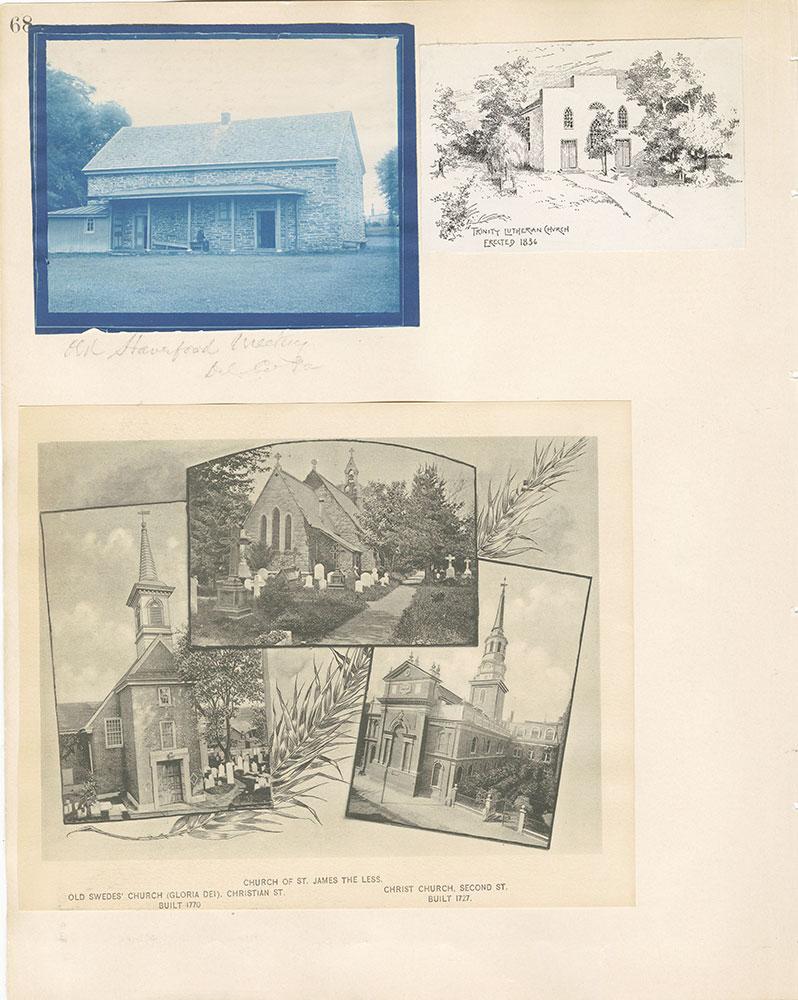 Castner Scrapbook v.22, Churches 1, page 68