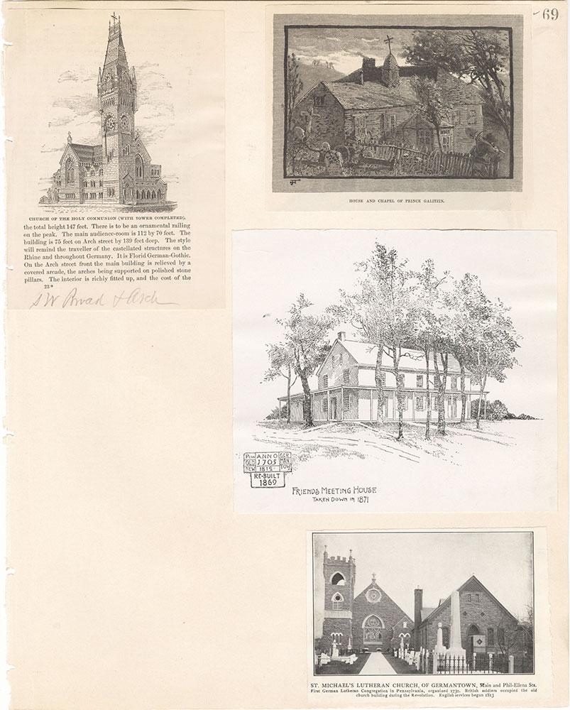 Castner Scrapbook v.22, Churches 1, page 69